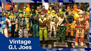My Vintage G.I. Joe Action Figure Collection