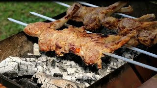 Shashlik Recipe _ Persian Style Shishlik BBQ _ How to make Shashlik
