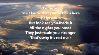 Kirk Franklin Over Lyrics