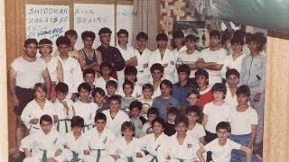 Επίδειξη Shidokan Karate - σχολή Σπύρου Κολοβού