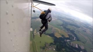 Základní parašutistický výcvik 21. 6. 2014 - Letiště Jihlava - Henčov, Aeroklub Vysočina, LSD trip