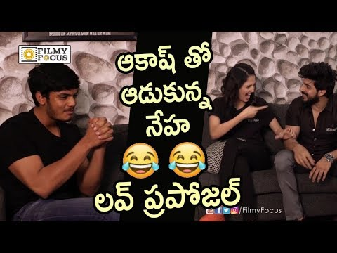 Xxx Mp4 Akash Puri And Neha Shetty Love Proposal Hilarious Video Filmyfocus Com 3gp Sex