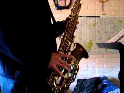 Pantera Rosa saxofon
