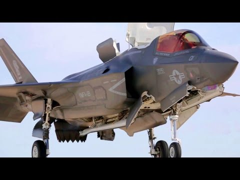 watch F-35 Short Takeoff & Vertical Landings - Awesome Views