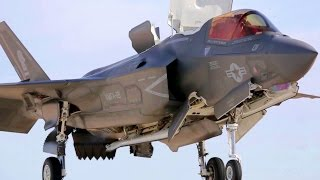 F-35 Short Takeoff & Vertical Landings - Awesome Views
