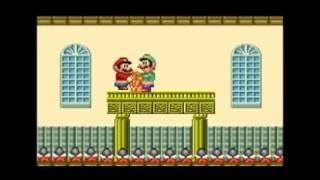 Princess Sucks Super Mario´s Dick & gets banged by Luigi (Sex Tape)