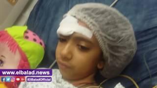 صدى البلد |ابنة قس البطرسية تروى قصتها من على فراش المرض بمستشفي الدمرداش