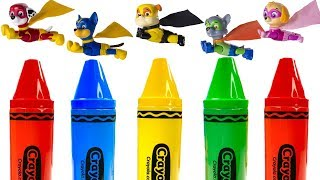 Learning Colors for Kids with PAW Patrol Super Pup Magical Crayons | Fizzy Fun Toys