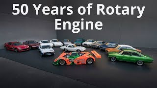Mazda 50 Years of Rotary Engine