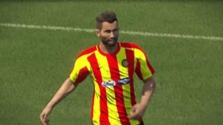 PS4 PES 2017 Gameplay Vita Club vs Esperance De Tunis HD