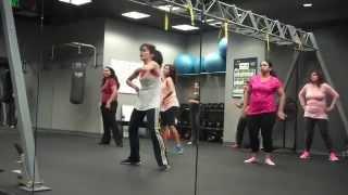 AMNA Dance Bollydio Ladies Laguna Irvine (Feb 26, 2014) Bollywood Cardio Workout
