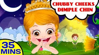 Chubby Cheeks Dimple Chin | Baby Hazel Poems, Kids Songs and Nursery Rhymes