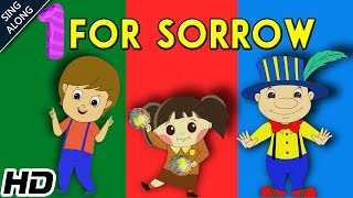 One For Sorrow (HD) Nursery Rhyme With Lyrics   Popular Nursery Rhymes   Shemaroo Kids