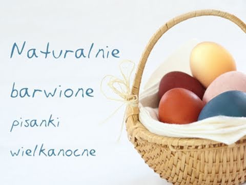 Natural Easter eggs dyeing how to naturally colorize Easter eggs DOROTA.iN