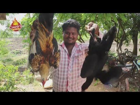 Cook Rooster Chicken-Country Chicken Recipe-Quick Chicken-Natu Kodi Recipe-Street Food