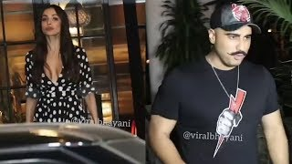 Malaika Arora, Arjun Kapoor spotted at Soho House Mumbai