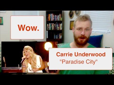Carrie Underwood - Paradise City (Live) | Reaction