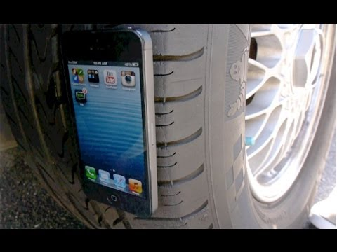 Introducing the Apple iCar - iPhone 5 Destroyed