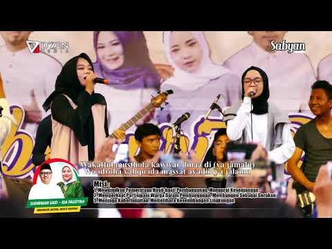 Download Ya Jamalu (Lirik) - Sabyan Gambus Live Semarang free