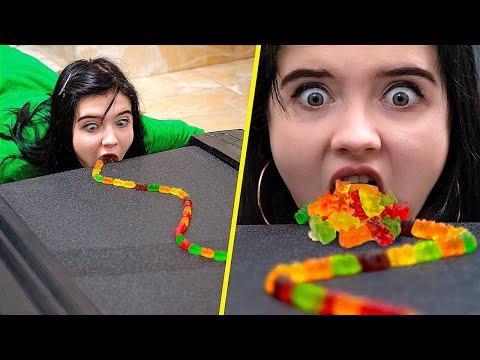Gummy Bears Challenge Gummy Bears Hacks