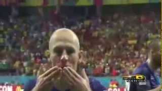 اهداف مباراة هولندا واسبانيا 5 1 كاس العالم 2014 عصام الشوالي HD   YouTube