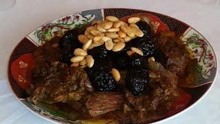 وصفة مغربية بامتياز اللحم بالبرقوق ديال لعراضة كيجي مذغمرة بطريقة سهلة وسريعة 😍