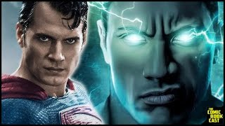 The Rock to Appear as Black Adam in Man of Steel 2 & SHAZAM Canceled Speculation