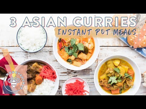 3 INSTANT POT CURRIES 🍵 for #BuzyBeez