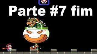 Jogando Super Mario com Jhonson #7 FIM