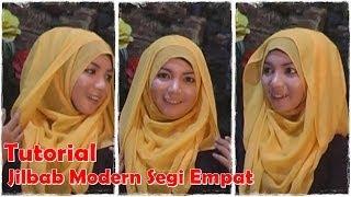 Video Cara Memakai Jilbab Segi Empat Modern #by Revi