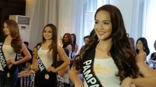 Miss Silka 2016 North Luzon Candidates Press Presentation
