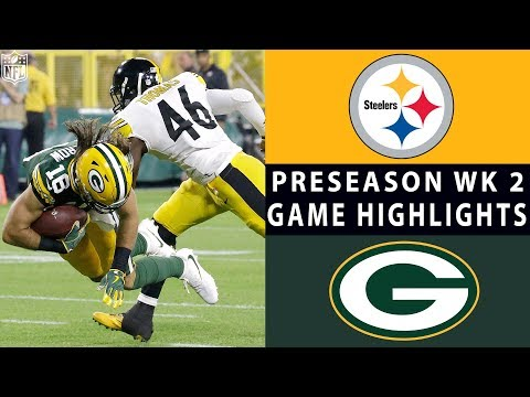 Xxx Mp4 Steelers Vs Packers Highlights NFL 2018 Preseason Week 2 3gp Sex
