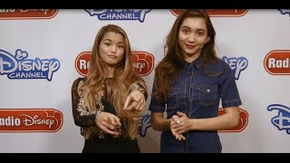 Rowan Blanchard and Paris Berelc Invisible Sister | Radio Disney