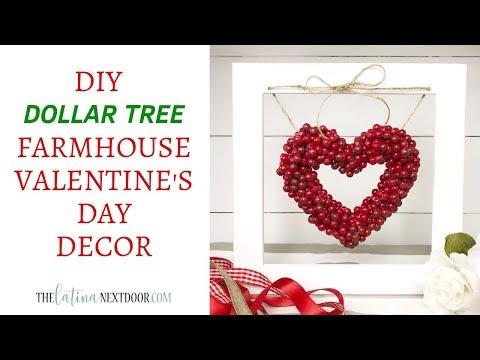 Xxx Mp4 DIY Dollar Tree Valentine S Day Decor Farmhouse Valentine S Decor 3gp Sex
