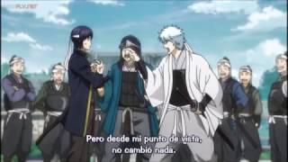 Gintama 2017 Sakamoto recuerda Takasugi y Gintoki