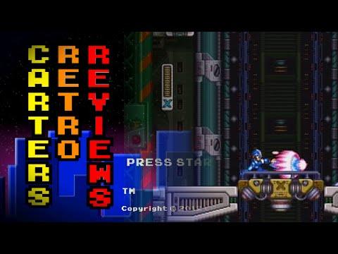 Carters Retro Reviews Megaman X3 Sega Saturn