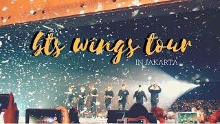 BTS WINGS TOUR IN JAKARTA - DI NOTICE SAMA SUGAAAA! :