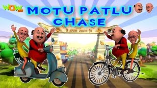 Chase - Motu Patlu - Part 1 - 30 Minutes of Fun!