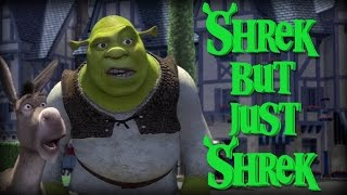 Every Shrek Movie but only the word