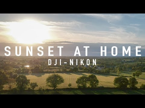 SUNSET AT HOME - NIKON DJI