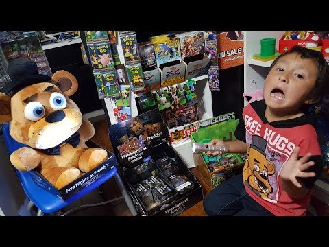 WARNING! SCARIEST VIDEO EVER! FIVE NIGHTS AT CARL'S! FREDDY SPECIAL! TRY NOT TO GET SCARED CHALLENGE