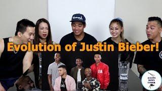 Asians React to Evolution of Justin Bieber - Aussie Asians