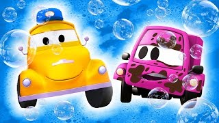 Tom the Tow Truck's Car Wash and BABY SUZY  | TRUCK cartoons for KIDS