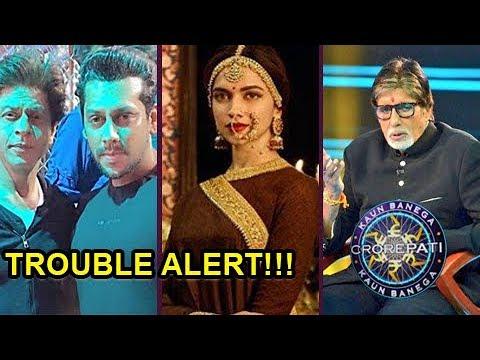 Shahrukh Khan's Next Film, Padmavati, Amitabh Bachchan's Kaun Banega Crorepati 9 In Trouble