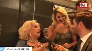 #PersonajesGENTE2014: Lali Espósito y el halago de Mirtha Legrand