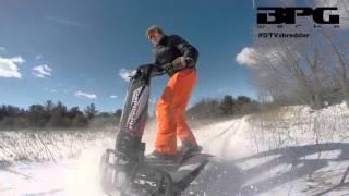 DTV Shredder: Fresh Snow at Test Track - Toronto - Winter Offroading