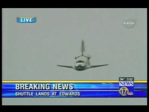 Space Shuttle Best view of shuttle landing Ive ever seen