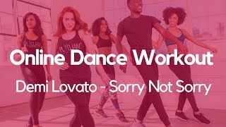 PlyoJam Cardio Dance Workout   Sorry Not Sorry   Demi Lovato