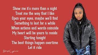 Caroline - Patience (Lyrics / Lyric Video) (Lash Remix)