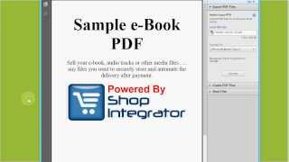 How to sell digital downloads with PayPal - sell ebook, sell music, sell audio tracks and sell video